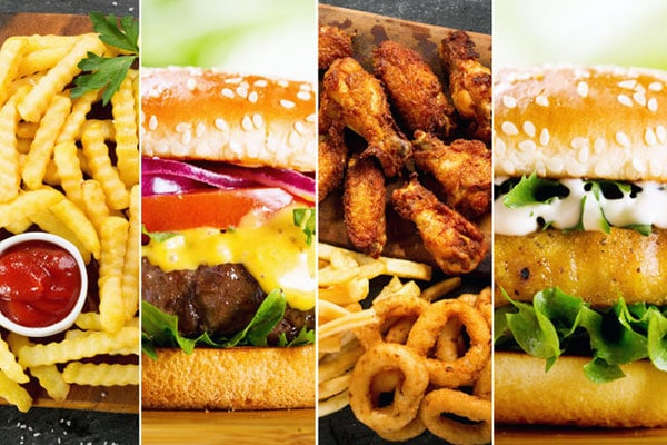 fast food meals