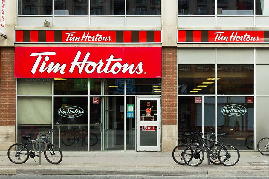 old tim hortons coffee shop