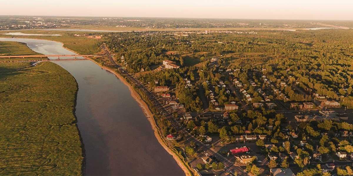 Riverview New Brunswick landscape2