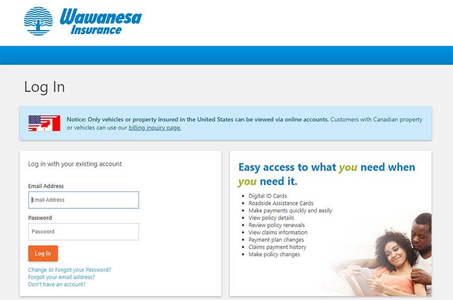 Wawanesa insurance login