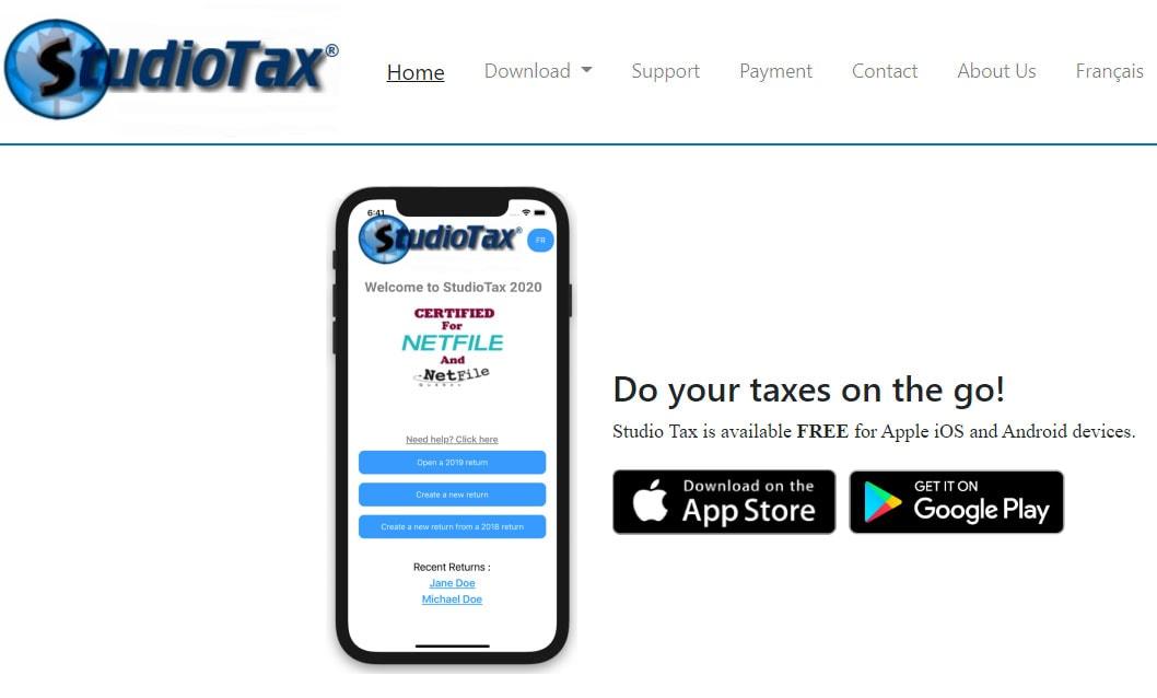 StudioTax App