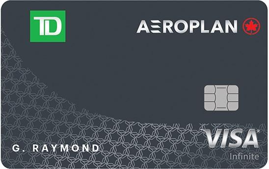 TD Aeroplan Infinite card