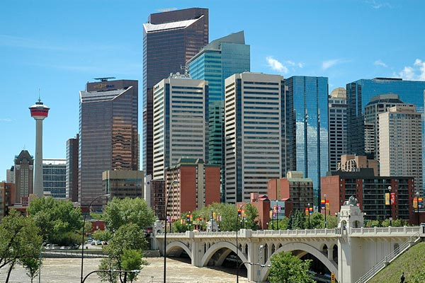 Calgary downtown alberta