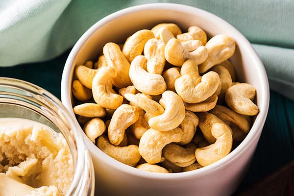 Cashew food for the stroke