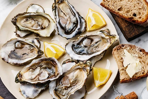 Oyster food for the stroke