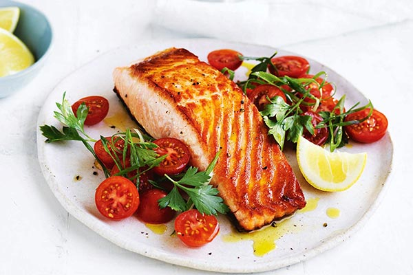 Salmon food for the stroke