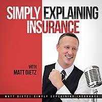 Simply Explaining Insurance podcast logo