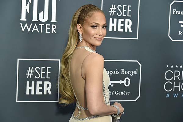 Jennifer Lopez insured body part