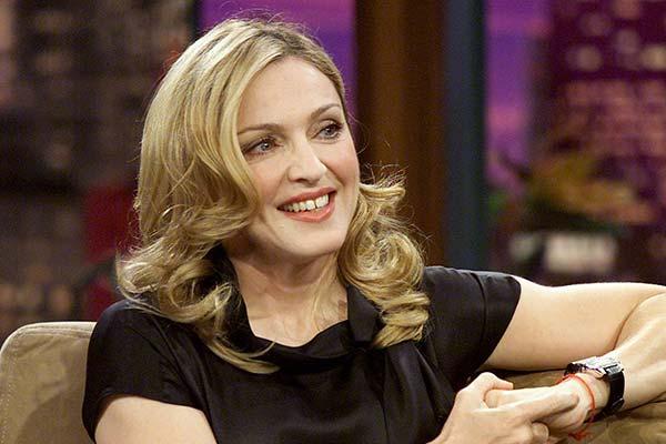 Madonna insured breast