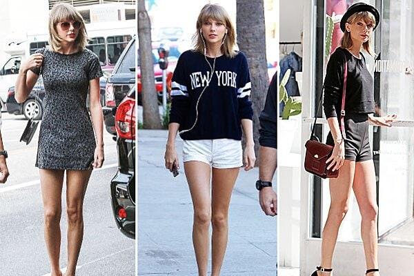 Taylor Swift insured legs